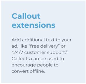 callout extension