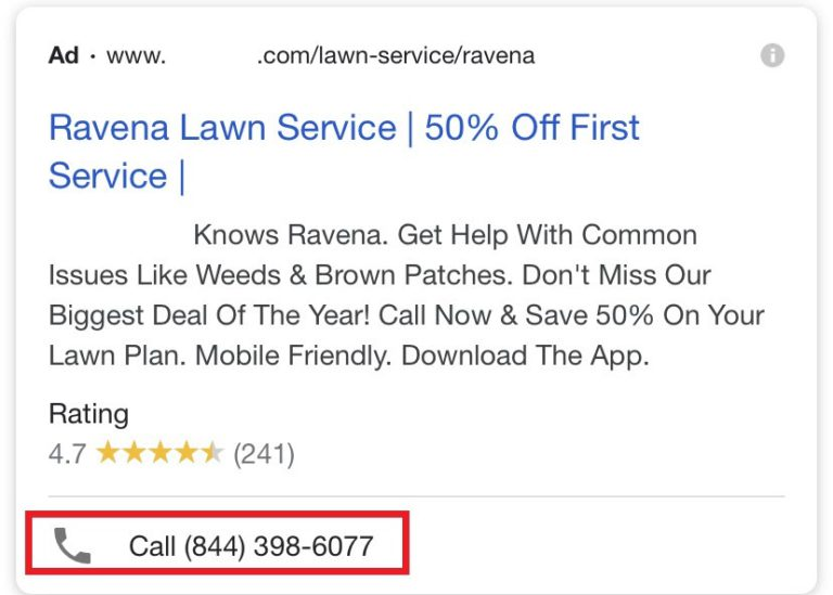 call extension_google ads