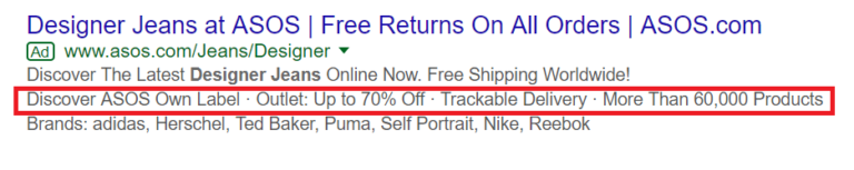 callout extensions_google ads